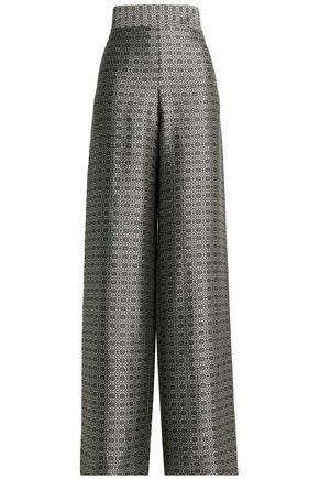 MAISON MARGIELA Jacquard wide-leg pants