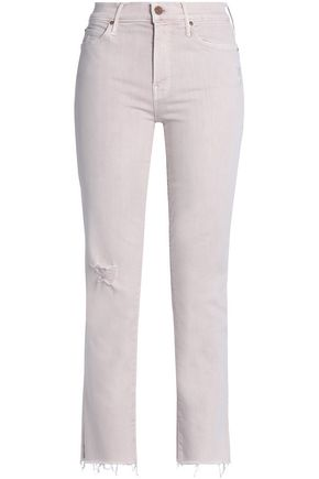 MOTHER High-rise skinny jeans