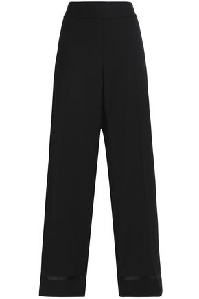MAISON MARGIELA Wool-blend twill wide-leg pants