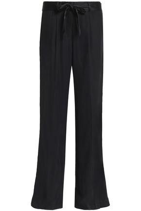 EQUIPMENT Washed-silk wide-leg pants