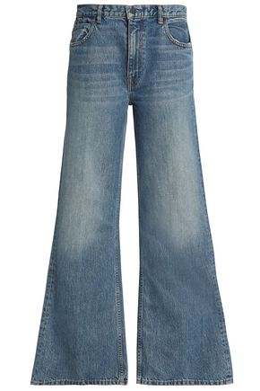 ALEXANDER WANG High-rise wide-leg jeans