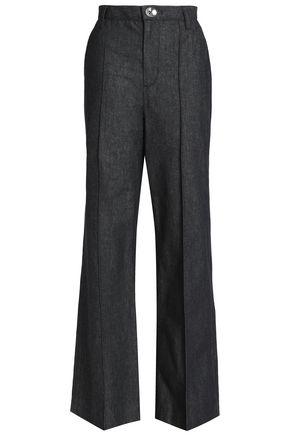 MARC JACOBS Bowie denim wide-leg pants