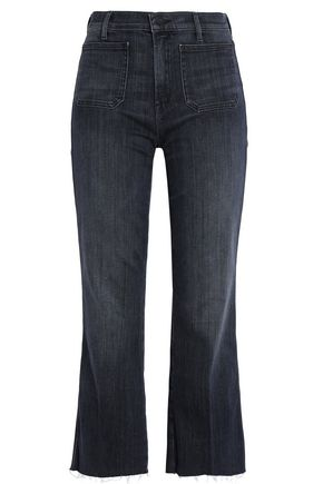 MOTHER High-rise kick flare jeans