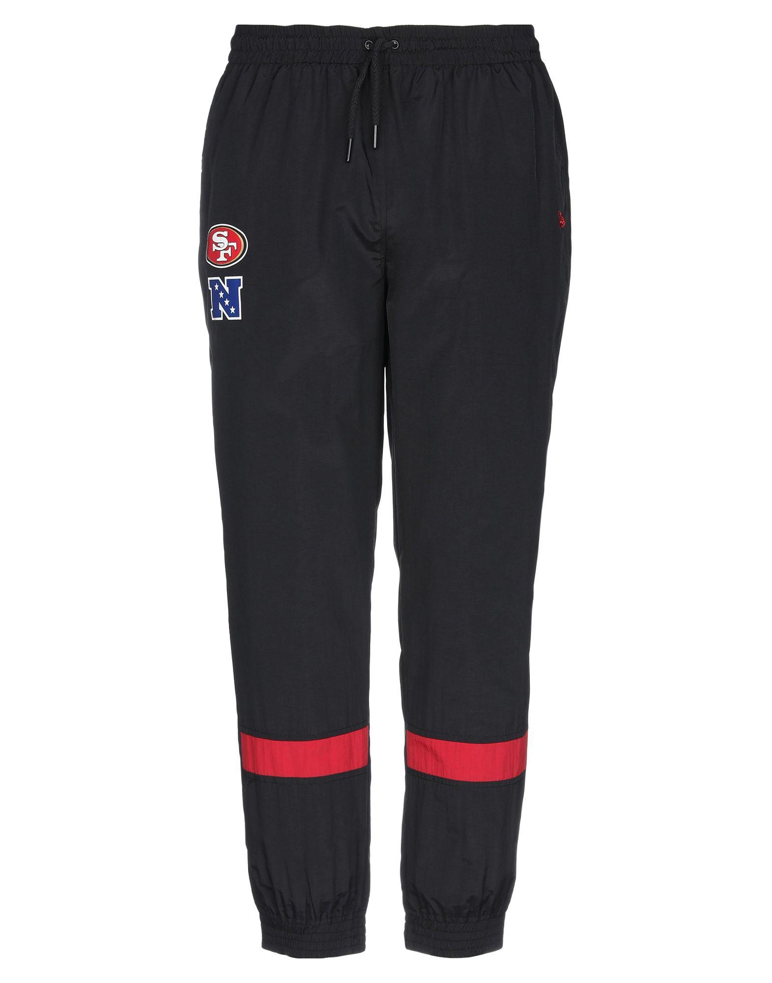 《期間限定 セール開催中》NEW ERA メンズ パンツ ブラック XS ポリエステル 100%