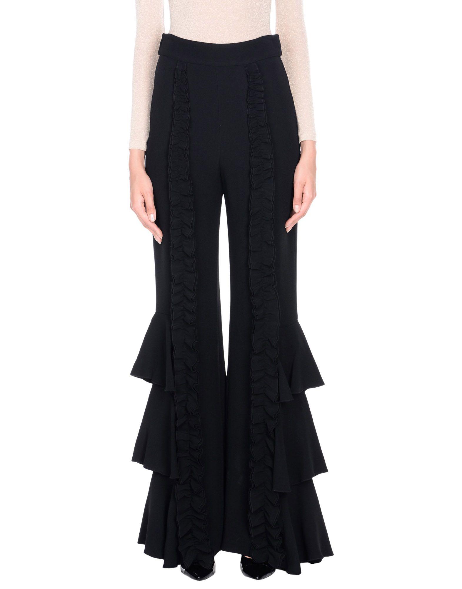 《送料無料》ALEXIS レディース パンツ ブラック M 紡績繊維