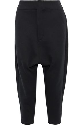 Y-3 + adidas Future cropped cotton-blend track pants