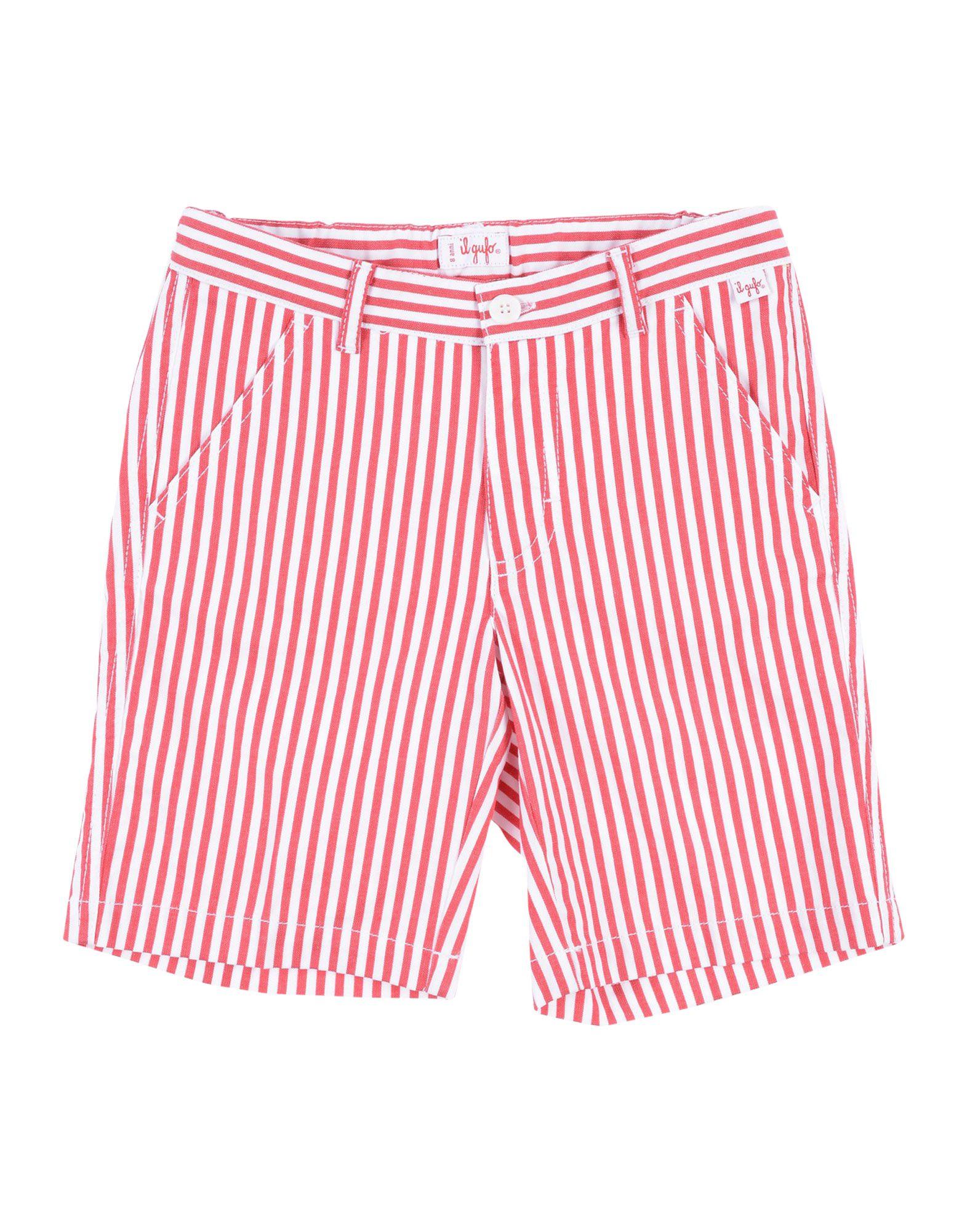 IL GUFO Бермуды il gufo комплект из футболки брюк и худи в полоску