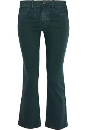 REDValentino Low-rise kick-flare jeans