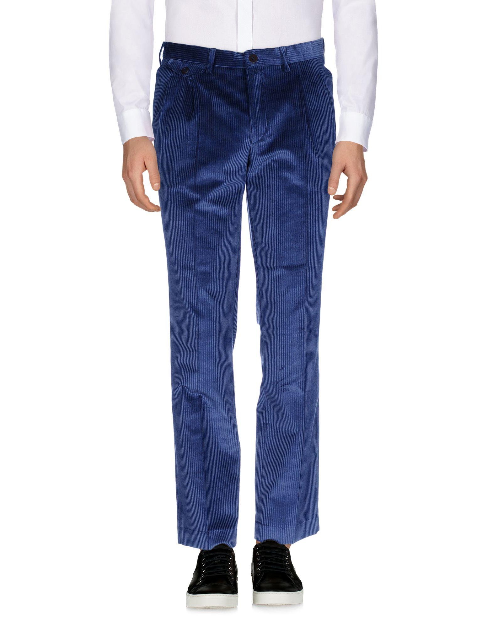 《期間限定セール中》LA PAZ メンズ パンツ ブルー M 100% コットン