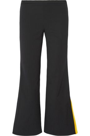 EMILIO PUCCI Wool-blend twill bootcut pants