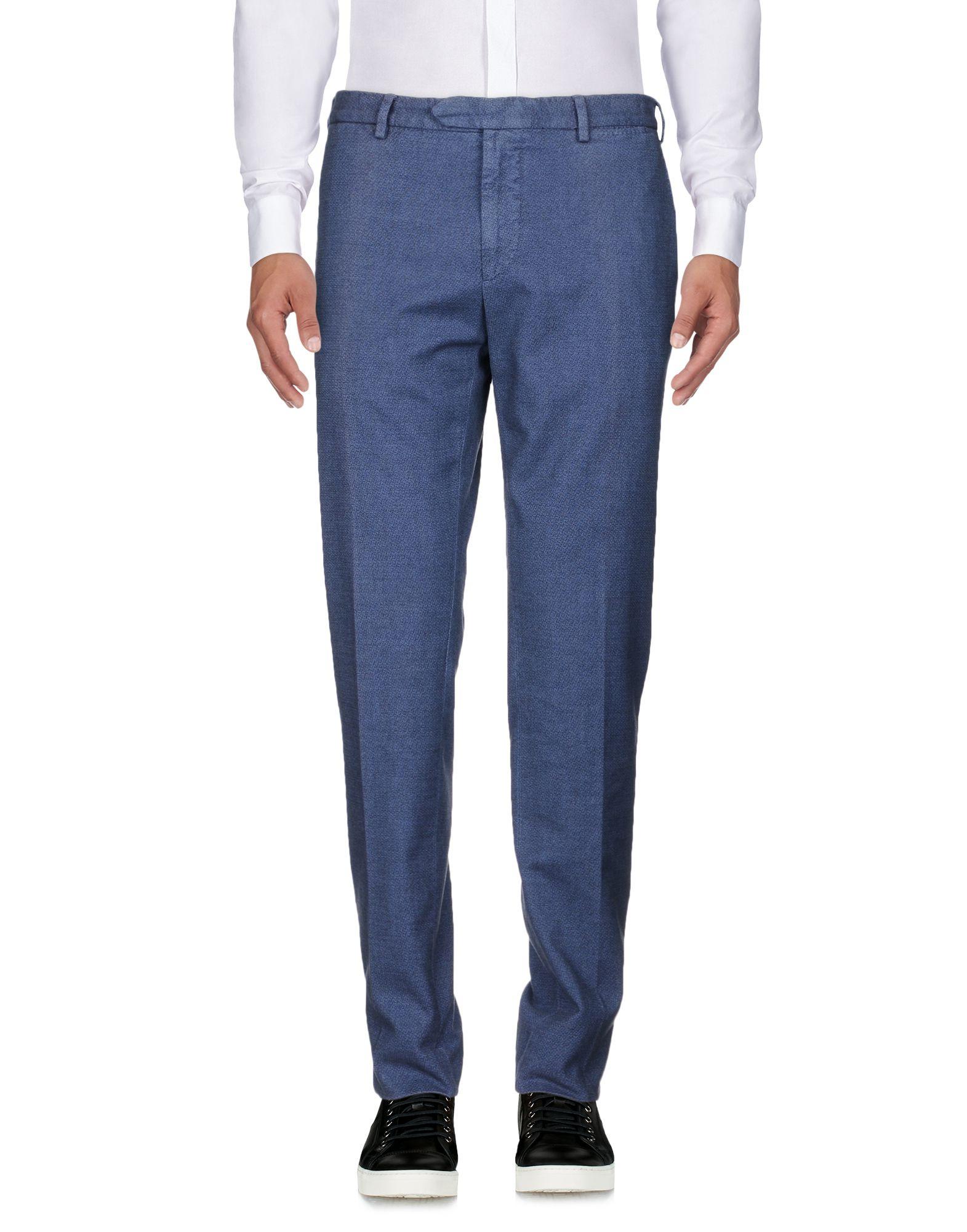 《送料無料》SANTANIELLO Napoli メンズ パンツ ダークブルー 56 コットン 100%