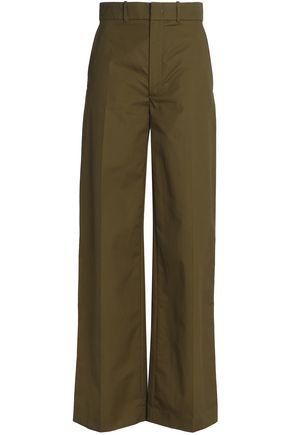 JOSEPH Cotton wide-leg pants