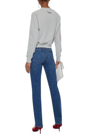 RE/DONE Mid-rise straight-leg jeans
