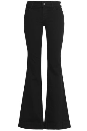 J BRAND Mid-rise flared jeans