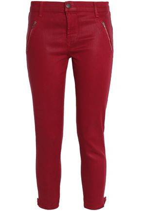J BRAND Cropped stretch skinny pants