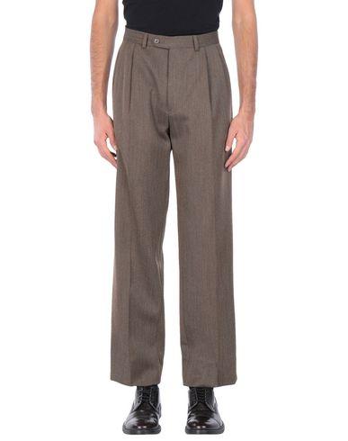 Фото - Повседневные брюки от JASPER REED темно-коричневого цвета