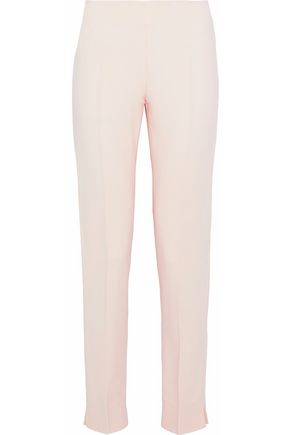 ANTONIO BERARDI Stretch-crepe straight-leg pants