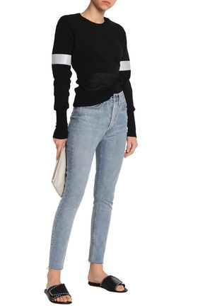 RE/DONE Faded high-rise skinny jeans