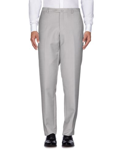 Фото - Повседневные брюки от JASPER REED светло-серого цвета