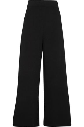 STELLA McCARTNEY Stretch-knit wide-leg pants