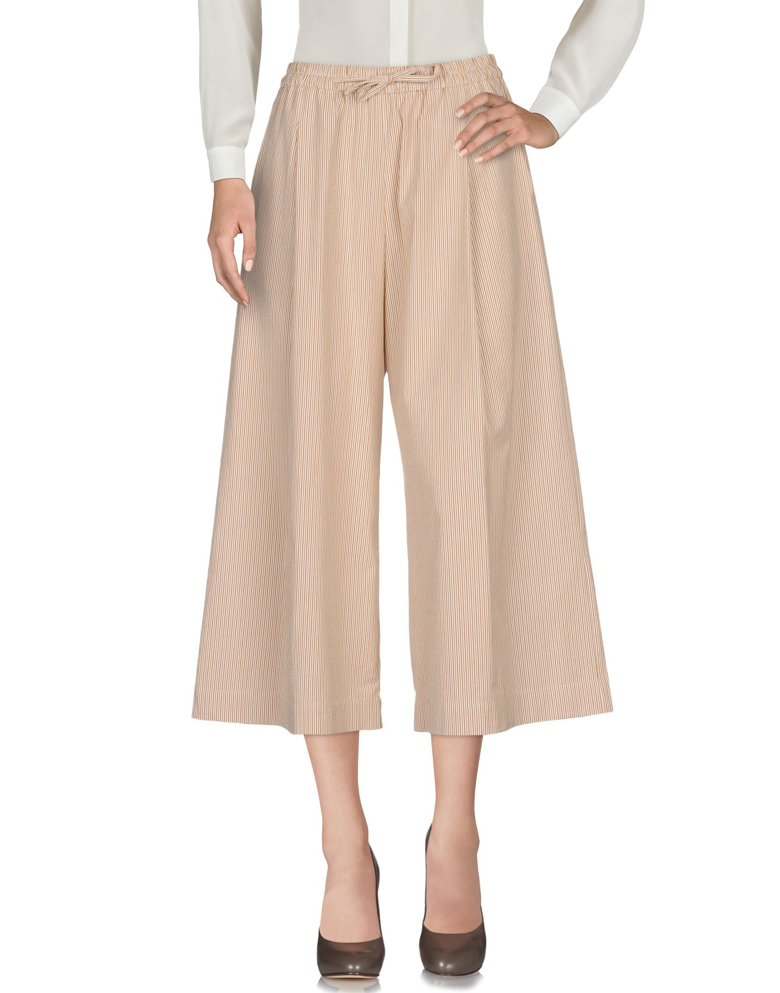 OPPORTUNO Casual Pants in Beige
