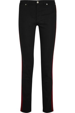 GIVENCHY Mid-rise slim-leg jeans