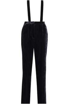 CLAUDIE PIERLOT Velvet straight-leg pants