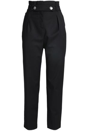CLAUDIE PIERLOT Twill tapered pants