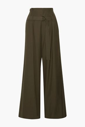 BRUNELLO CUCINELLI Twill wide-leg pants