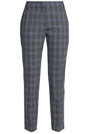 CLAUDIE PIERLOT Checked woven slim-leg pants