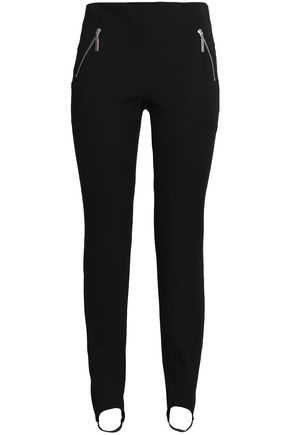 CLAUDIE PIERLOT Mid-rise stirrup skinny jeans