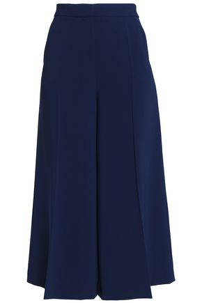 BOUTIQUE MOSCHINO Pleated crepe culottes