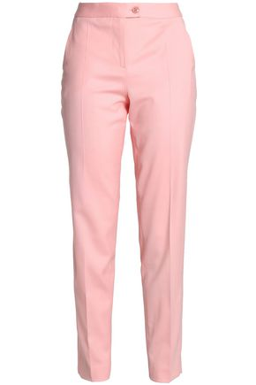 BOUTIQUE MOSCHINO Wool-blend slim-leg pants