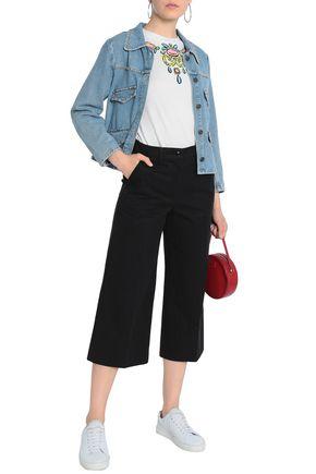 BOUTIQUE MOSCHINO Cotton-bend culottes