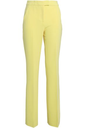 BOUTIQUE MOSCHINO Crepe bootcut pants