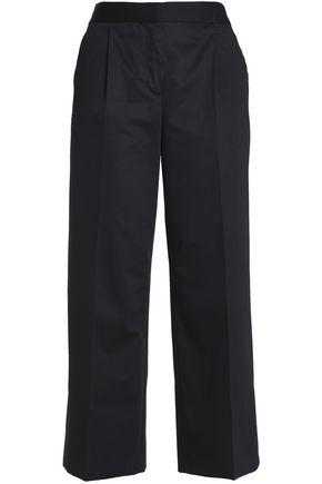 BOUTIQUE MOSCHINO Cotton-blend straight-leg pants