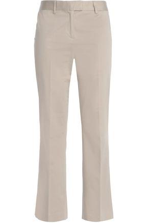 BOUTIQUE MOSCHINO Cotton-blend kick-flare pants