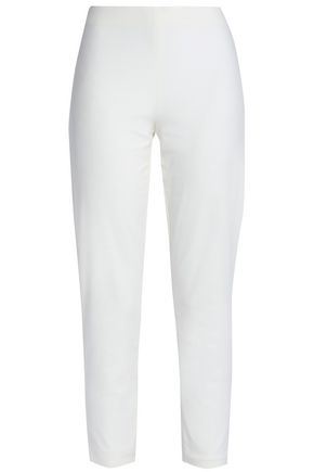 MOSCHINO Cotton-blend skinny pants