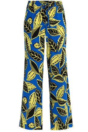 BOUTIQUE MOSCHINO Printed woven wide-leg pants