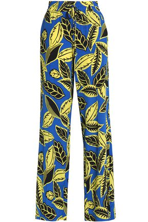 BOUTIQUE MOSCHINO Printed jersey wide-leg pants