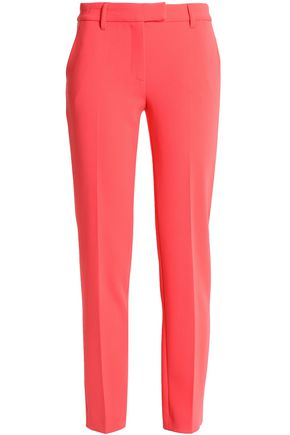 BOUTIQUE MOSCHINO Crepe slim-leg pants