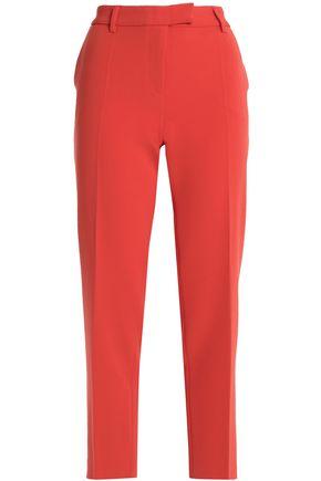 BOUTIQUE MOSCHINO Crepe slim-leg pants
