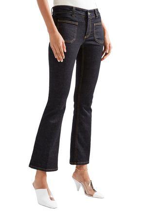 STELLA McCARTNEY 70's Flare low-rise kick-flare jeans