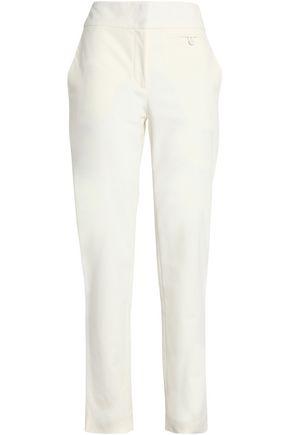 CEDRIC CHARLIER Cotton-blend twill slim-leg pants