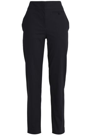 CEDRIC CHARLIER Cotton-blend twill slim-leg pants