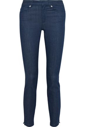 A.P.C. Zip-detailed mid-rise skinny jeans