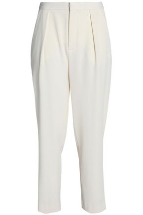SEE BY CHLOÉ Cropped crepe tapered pants