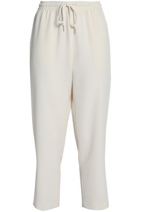 SEE BY CHLOÉ Cropped crepe track pants
