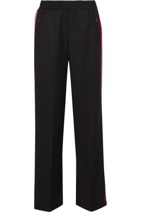 IRIS & INK Brett stretch-jersey straight-leg pants