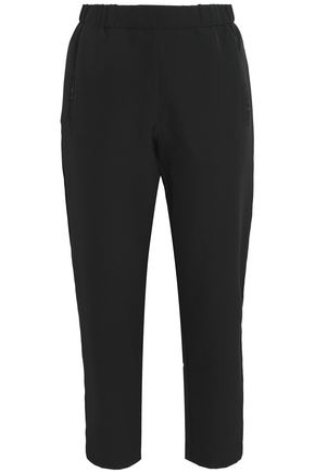 LINE Crepe straight-leg pants